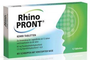 7.Kê đơn thuốc viêm mũi dị ứng Rhinopront