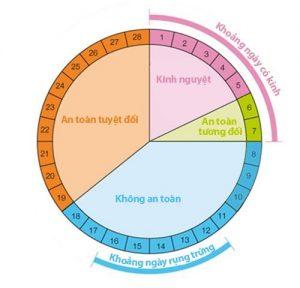 Tránh thai bằng cách tính ngày rụng trứng