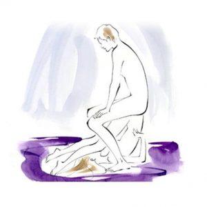 8.Tư thế máy khoan trên ghế tình yêu – Lên đỉnh chưa bao giờ dễ dàng đến thế
