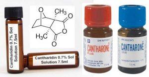 Đặc trị mụn cóc với Cantharidin(Verr-Canth)