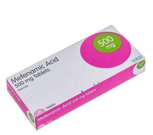 7. Đau bụng kinh uống thuốc giảm đau gì - Mefenamic acid