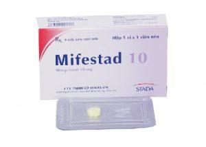 1. Thuốc tránh thai khẩn cấp Mifestad 10 –Lựa chọn số 1 của chị em hiện nay