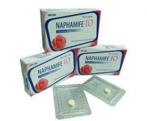 9. Naphamife –Thuốc tránh thai khẩn cấp hiệu quả 2019