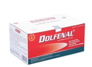 1. Thuốc giảm đau bụng kinh dolfenal –Sản phẩm bán chạy nhất 5 năm trở lại đây