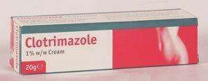 8.Thuốc đặc trị hắc lào Clotrimazole