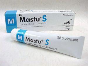 10.Thuốc bôi trĩ Mastu