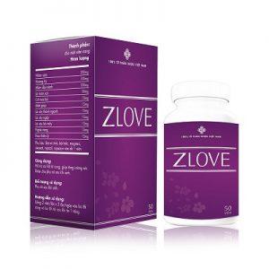 3. Zlove thuốc tăng cường sinh lý nữ, se khít vùng kín tốt nhất hiện nay