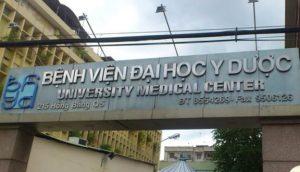 Đơn vị Nam học - Bệnh viện Đại học Y Dược thành phố Hồ Chí Minh - Cơ sở 1