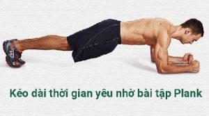 2.Bài tập thể dục chữa suất tinh sớm - Plank