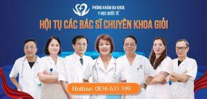 Đội ngũ tiến sĩ – thạc sĩ – y bác sĩ đi đầu trong lĩnh vực chăm sóc sức khỏe sinh sản