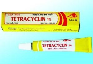 5.Thuốc trị ngứa vùng kín nữ giới - Tetracylin