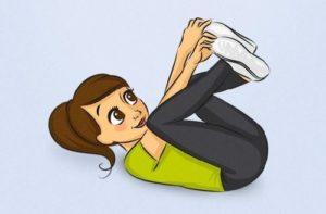 3.Bài tập cuộn người - bài tập thể dục tan mỡ bụng