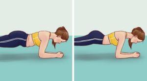 1.Bài tập thể dục giảm mỡ bụng dưới - Plank cơ bản