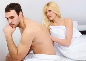 Quan hệ không có cảm giác - Mất cảm giác khi quan hệ ở nam giới