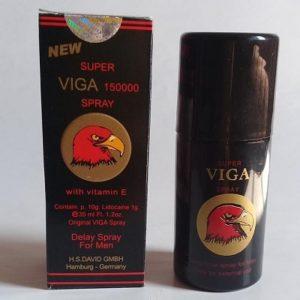 10. Chai xịt giúp quan hệ lâu ra Super Viga 150000 spray