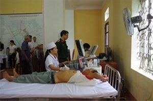 Quy trình thăm khám tại viện Y học cổ truyền Quân đội