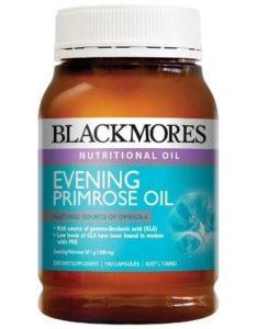 9.Thực phẩm chức năng Blackmores Evening Primrose Oil giúp kéo dài tuổi tiền mãn kinh