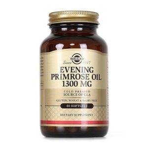 6.Thực phẩm bảo vệ sức khỏe Evening Primrose Oil 1300 MG Solgar