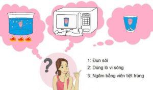 Cách vệ sinhcốc nguyệt san sau khi sử dụng