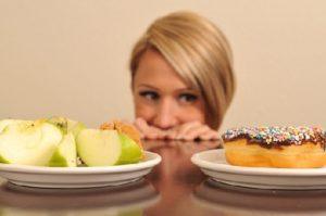 Thói quen ăn uống bị đảo lộn