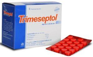 Viêm tiết niệu uống thuốc gì? - Thuốc kháng sinh Trimethoprim