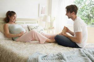 Massage chân: