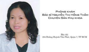 Bác sĩ sản phụ khoa Nguyễn Thị Hồng Thắm