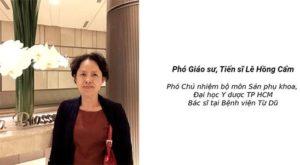 Phòng khám bác sĩ phụ khoa giỏi - Bác sỹ Lê Hồng Cầm