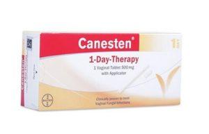 Thuốc đặt âm đạo cho bà bầu Canesten 500mg và 100mg
