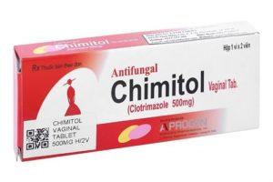Thuốc trị nấm candida cho bà bầu hiệu quả Chimitol