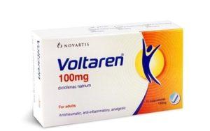 Thuốc đặt giảm đau sau sinh mổ Voltaren 100mg Supro