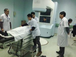 Cơ sở vật chất của bệnh viện Ung Bướu Hà Nội