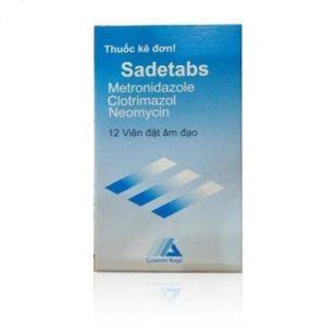 Thuốc đặt Sadetabs là thuốc gì?