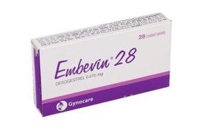 Tác dụng của Embevin 28 với chị em phụ nữ